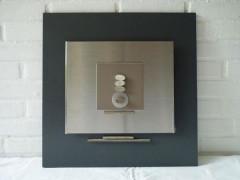 VENDU - Cadre déco 50x50 zen naturel