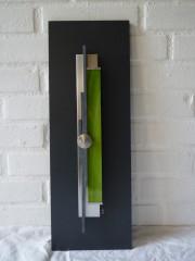 cadre déco vertical vert